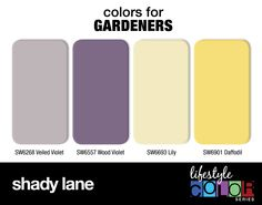Colors for Gardeners: Shady Lane