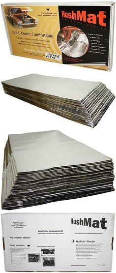 HUSHMAT 10330 12 x 23 Foil Sound Damping Material Cargo Trunk Kit 16 sheets