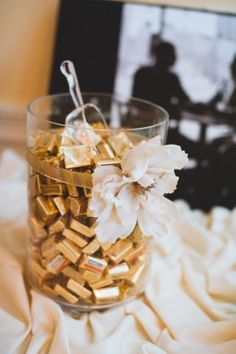 Chocolate Bar Wedding 275x413 Jewel Toned Country Club Virginia Wedding Reception: Kristen + Aaron