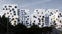 Blocos de Apartamentos em Nanterre / X-TU
