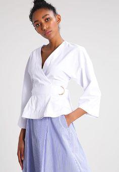 Vêtements IVY & OAK Blouse - bride white blanc: 80,00 € chez Zalando (au 01/02/17). Livraison et retours gratuits et service client gratuit au 0800 915 207.