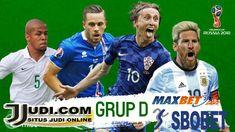 Piala Dunia 2018 Klasemen GroupD diikuti 32 Negara seluruh Dunia terdiri dari 4 negaraArgentina,Kroasia,Iceland,Nigeria dari Group D Argentina mempunyai pelua Sports, Hs Sports, Sport, Exercise