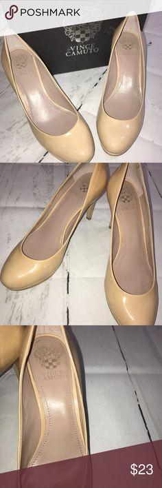 Vince Camuto Zella Patent Leather Heel petal Vince Camuto Zella Patent Leather Heel petal box included size 8 women's Vince Camuto Shoes Heels