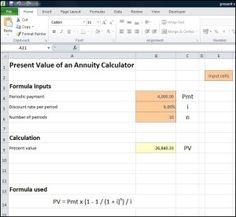 Present Value Annuity Calculator Tvmschools Annuity Calculator Annuity Calculator