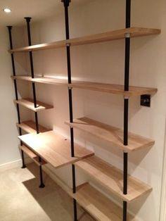 key clamp shelves - Google Search