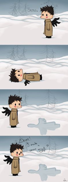 This is so adorable! Cas looks so happy!