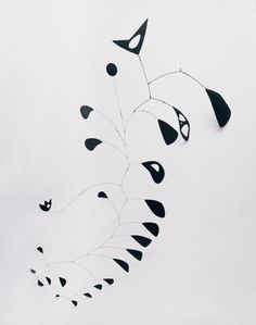 Alexander Calder - The S Shaped Vine, 1946