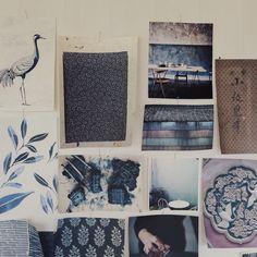 Tapetkollektion Simplicity  i samarbete med Eco Wallpaper    Mönstret Dancing crane       Eco visade mig de här fantastiska gamla japa...