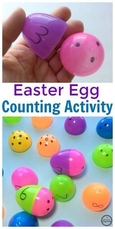 Easter Egg Counting Activity