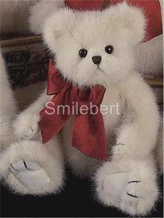 Bearington LIL' RASCAL Plush White Teddy Bear NWT, Great Christmas Gift have this one.