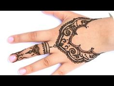 henna tutorial 3 ganze hand sanny kaur youtube. Black Bedroom Furniture Sets. Home Design Ideas