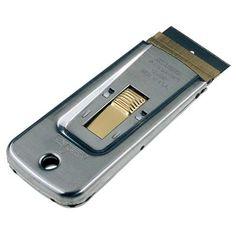 Ξύστρες : Ξύστρα Pocket Unger Sr500, Blade, Safety, Personal Care, Metal, Unique, Health, Stainless Steel, Cleaning