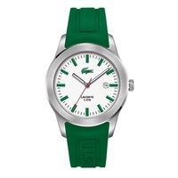 Lacoste Unisex Watch, Green Rubber Now £55.00 RRP £95.00 www.shushstore.com