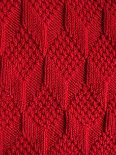 Moss Diamond and Lozenge Pattern - Treasury of Knitting Patt.- Moss Diamond and Lozenge Pattern – Treasury of Knitting Patterns Moss Diamond and Lozenge Pattern – Treasury of Knitting Patterns - Knitting Stiches, Knitting Charts, Baby Knitting Patterns, Baby Patterns, Free Knitting, Crochet Stitches, Stitch Patterns, Crochet Patterns, Knitting Needles