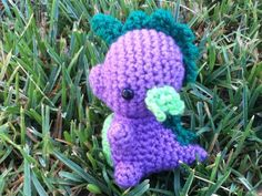 Spike My Little Pony crocheted by CraftedCuteness on Etsy, $35.00