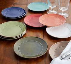 Cambria Mini Serve Bread Plate, Set of 4 #potterybarn