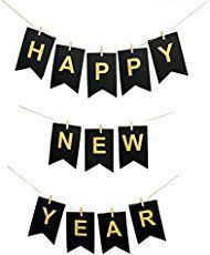 free printable happy new year banner new year pinterest free