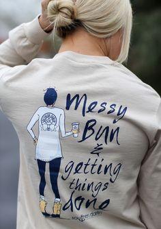 Messy Bun - Southern Darlin' - 2