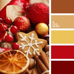 christmas palette palettes with color ideas for decoration your house, wedding, hair or even nails. Christmas Palette, Christmas Colour Schemes, Red Color Schemes, Red Colour Palette, Gold Color Palettes, House Color Schemes, Color Themes, Color Combos, Color Red