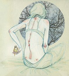 obsessed with her gorgeous illustrations @_@    Arquímedes - Adara Sanchez Anguiano