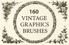 Vintage Graphics - Brushes @creativework247