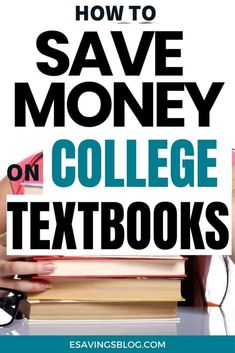 Going to college or in college now? Save Money on College Textbooks with these tips! You can save hundred of dollars on textbooks. #college #student #collegetips Going Back To College, Saving For College, Finance Quotes, Finance Tips, Money Saving Tips Uk, Prayer For Finances, College Student Budget, How To Get Money Fast, Personal Finance Articles