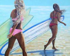 Kelly Keane: la lumière, l'eau et le surf   STRINGER