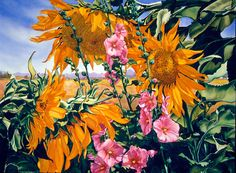 Mary Backer's Watercolor Paintings