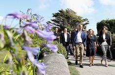 Le prince William et son épouse la duchesse de Cambridge, née Kate Middleton…