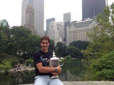 Rafa Nadal · 11 September 2013  Muchas gracias a todos desde Central Park!  Thank you from Central Park!