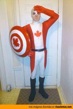Nuevos superhéroes: Capitán Canadá.