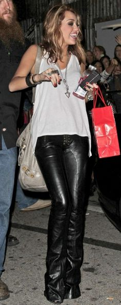 Miley Cyrus Leaving the House of Blues in Los Angeles June 21 2010