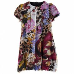 Floral Print Puffball Dress