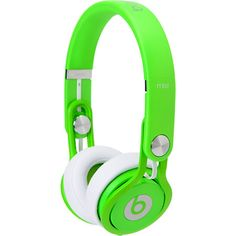 The Beats By Dre Mixr Neon Green Limited Edition headphones are professional grade headphones that deliver quality sound so you hear every element of a track.