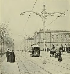 Vienna Museumstraße 1905