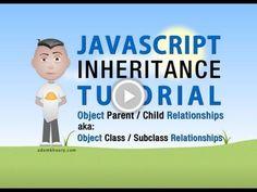 JavaScript Inheritance Tutorial Object Oriented Class Programming