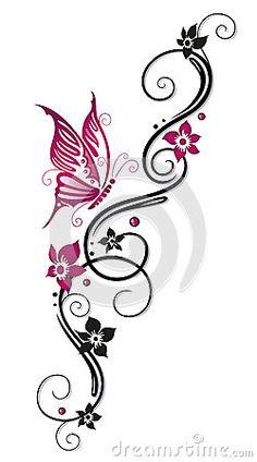 Flores, zarcillo