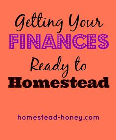 If you dream of buying land, but don't know how you'd afford it, this post is for you! Ariana from Truth, Peace, Love shares her tips for getting your finances ready for homesteading.