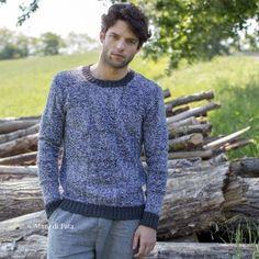 Immagine maglioni di lana fatti a mano uomo abbigliamento in