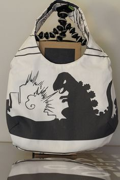Please Ikea Please bring back Godzilla fabric ... Ikea fabric bag