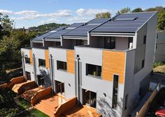 Townhouses in Boston designed to produce more energy than they use/ Interface Studio Architects