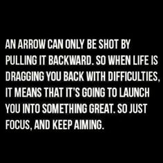 Great archery related quote!