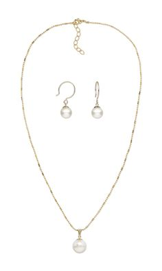 Jewelry Design - Single-Strand Necklace and Earring Set with Swarovski® Crystals and 14Kt Gold-Filled Findings - Fire Mountain Gems and Beads