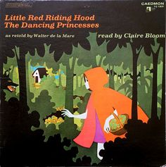"""illustrations by leo and diane dillon from """"little red riding hood & the dancing princesses""""."""