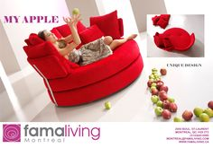 Funky Sofa, Different Fabrics, Furniture Collection, Floor Chair, Montreal, Bean Bag Chair, Love Seat, Spain, Comfy