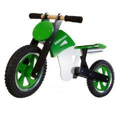 Kiddimoto Srambler green white