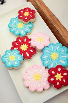 #Flowers #Crochet #Cookies  The Party Wagon - Blog - LITTLE HOUSE ON THE PRAIRIEPARTY