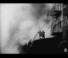 Amazing FDNY 1920's era Chief's dashcam + 5 Bagger warehouse fire footage.
