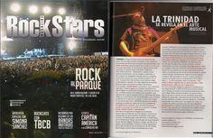 Articulo de la revista Rockstars sobre TRINIDAD