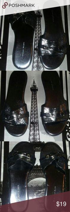 ETIENNE AIGNER lWomen's super comfortable sandals Dazzling & built for comfort luxury  women's  Etienne Aigner sandals  very classy Etienne Aigner Shoes Sandals
